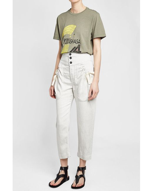 Discount Cost Weaver pants - Nude & Neutrals Isabel Marant New Fashion Style Of Wholesale Price For Sale Q3Xlofr3
