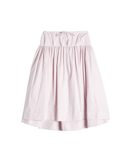 Jil Sander Navy   Pink Cotton Skirt   Lyst