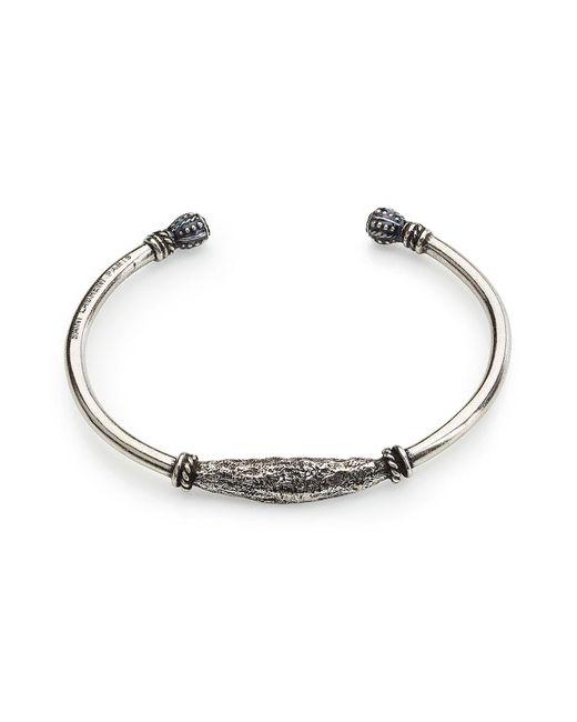 Saint Laurent - Metallic Silver-tone Bracelet for Men - Lyst