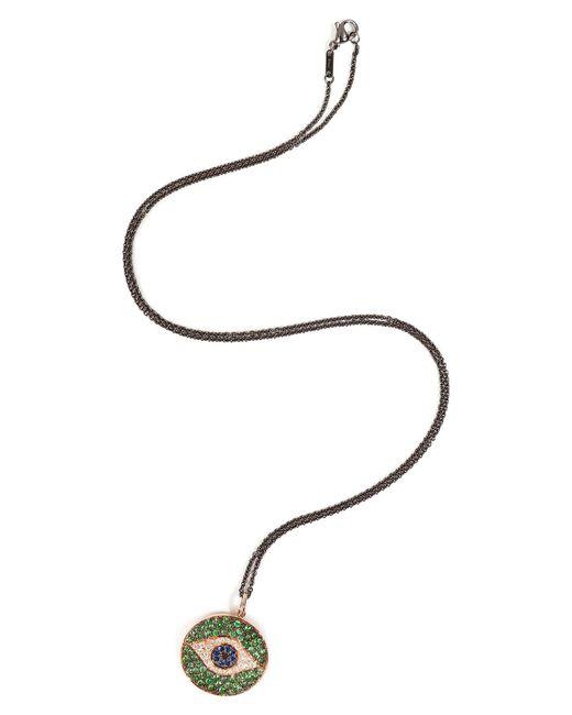 Ileana Makri | 18kt Pink Gold Dawn Pendant Necklace With Diamonds | Lyst