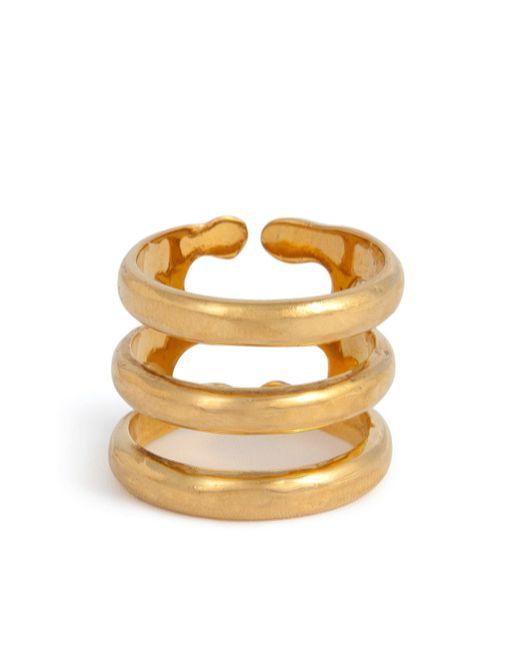 Aurelie Bidermann | Metallic Esteban Ring | Lyst