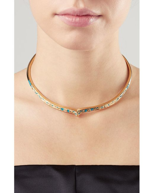 Aurelie Bidermann | Metallic Apache Gold-plated Necklace | Lyst