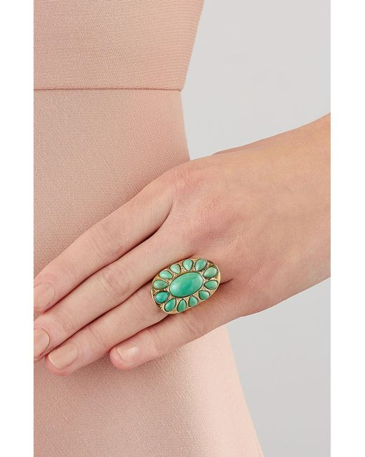 Aurelie Bidermann | Metallic Gold-plated Ring | Lyst