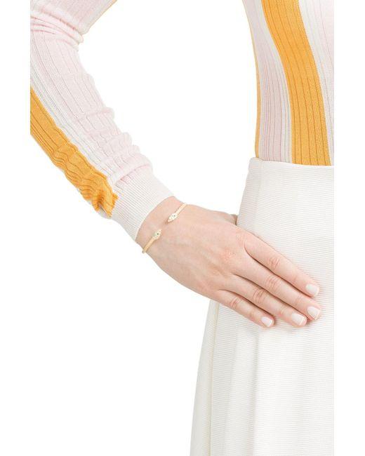 Carolina Bucci | Metallic Owl Wings 18k Gold Bracelet With Turquoise | Lyst