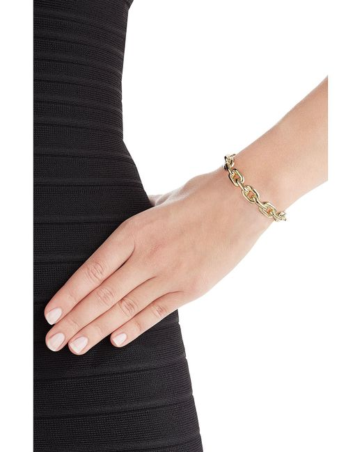 Jennifer Fisher | Metallic 14kt Gold Plated Bracelet | Lyst