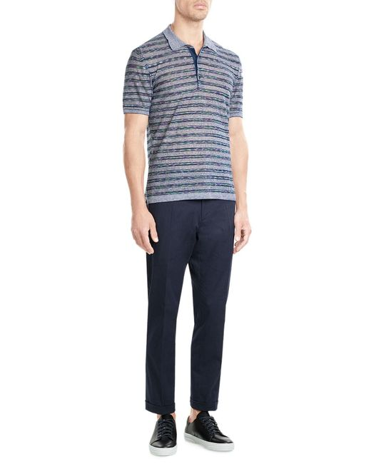 Jil Sander | Black Cotton Ankle Pants for Men | Lyst