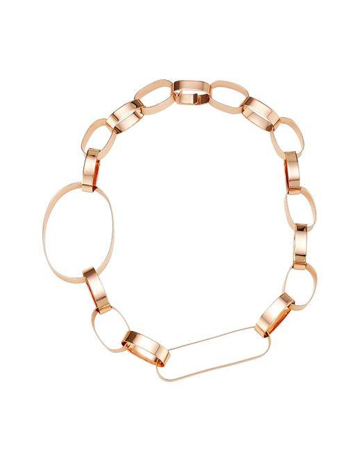 Maison Margiela | Metallic Mixed Loop Necklace | Lyst