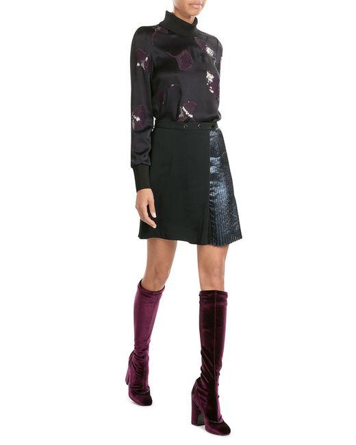 Laurence Dacade | Purple Velvet Knee-length Boots | Lyst