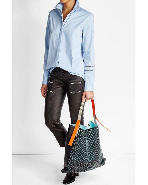 KENZO | Natural Rizo Leather Tote | Lyst