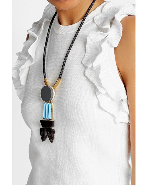 Marni | Multicolor Necklace With Embellishments | Lyst