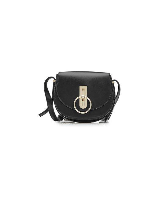 Nina Ricci - Black Compass Leather Shoulder Bag - Lyst