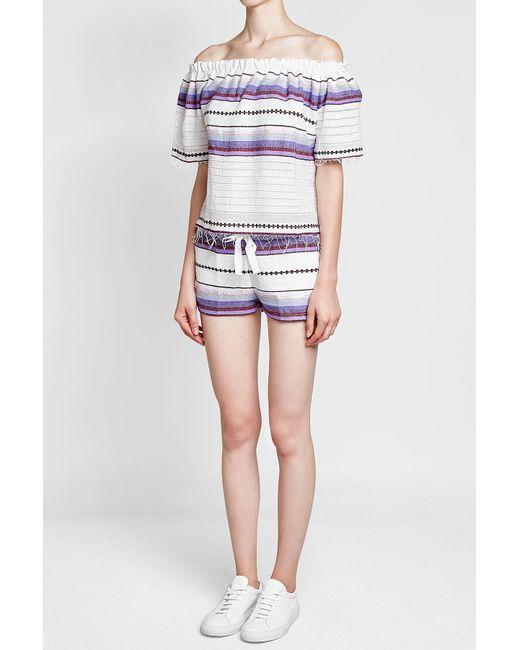Lemlem   Multicolor Cotton Shorts   Lyst