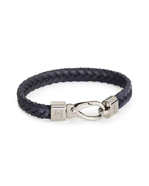 Tod's | Blue Leather Bracelet for Men | Lyst