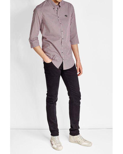 DSquared² | Multicolor Printed Short Sleeved Shirt for Men | Lyst