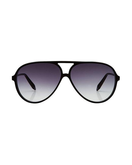 Victoria Beckham - Multicolor Fine Aviator Sunglasses - Lyst