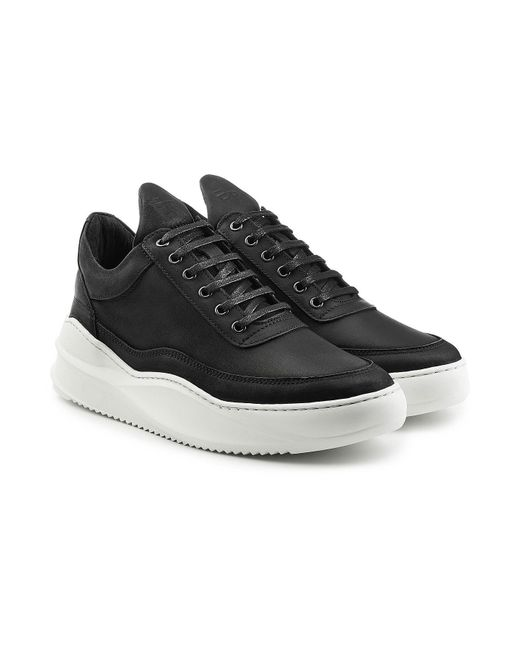 Filling Pieces | Multicolor Fundament Leather Sneakers for Men | Lyst