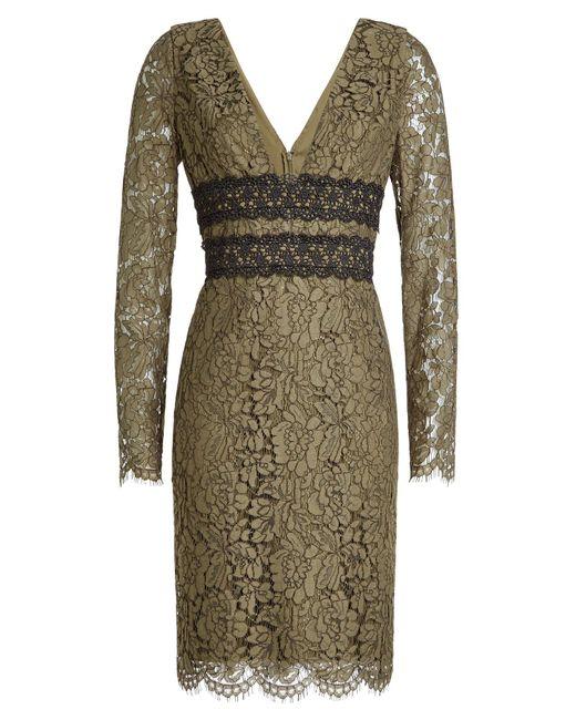 Diane von Furstenberg - Multicolor Lace Dress - Lyst