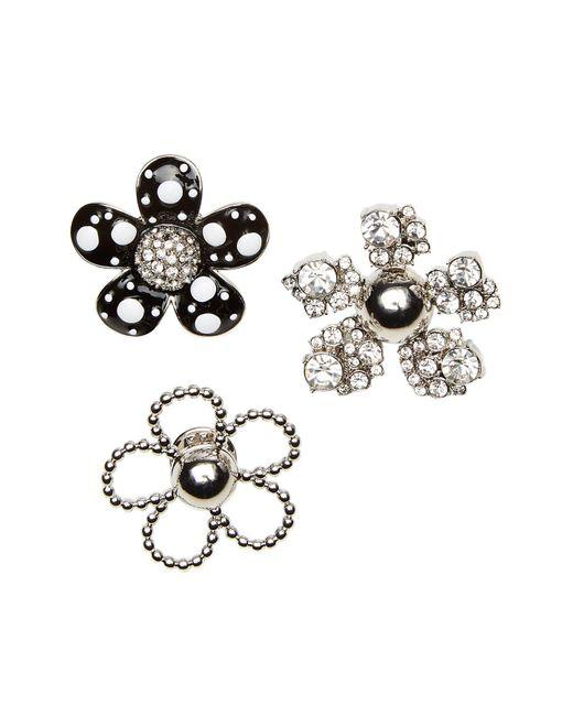 Marc Jacobs - Multicolor Daisy Polka Dot Embellished Brooch Set - Lyst