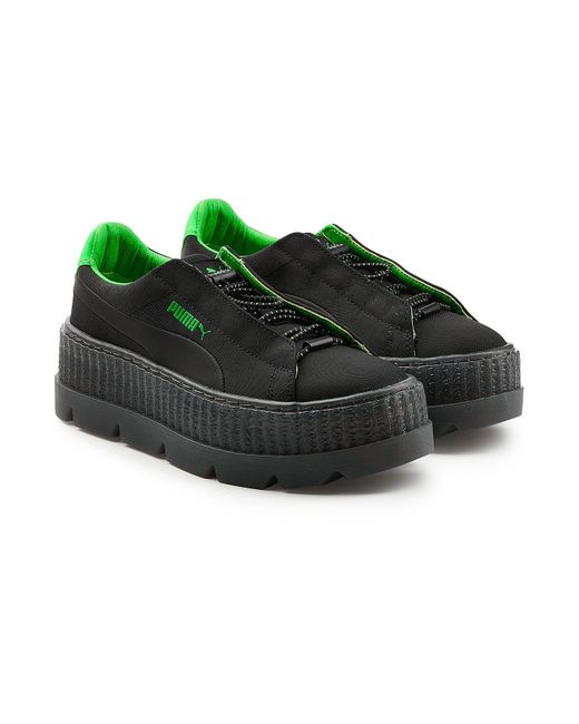 PUMA - Green Cleated Creeper Surf Sneakers - Lyst