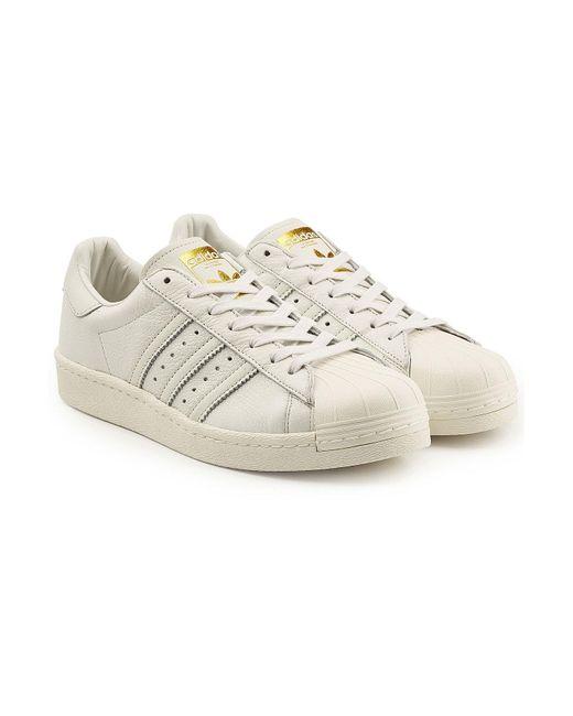 Lyst adidas de Originals Superstar Boost zapatilla de adidas cuero para los hombres 7ab19c
