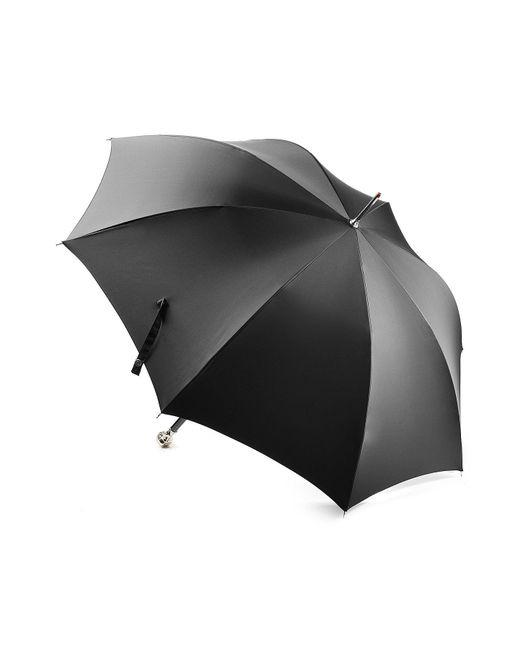 Alexander McQueen - Black Umbrella With Skull Handle - Lyst