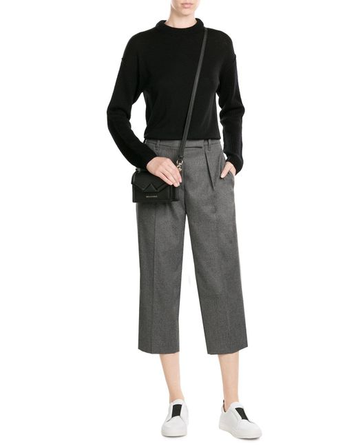 DKNY   Black Pullover With Wool   Lyst