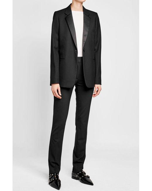 Victoria Beckham | Black Wool Blazer | Lyst