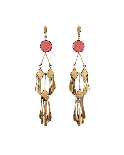 Etro - Blue Chandelier Earrings - Lyst