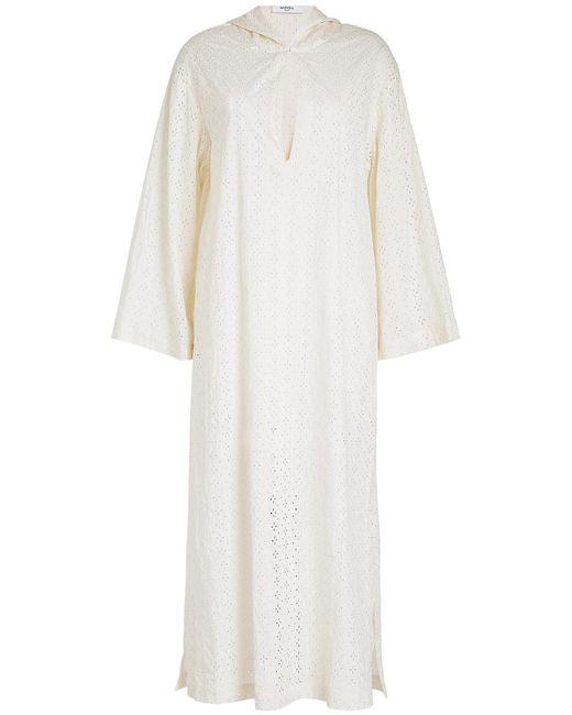 Marysia Swim - White Dunmore Hooded Dress - Lyst