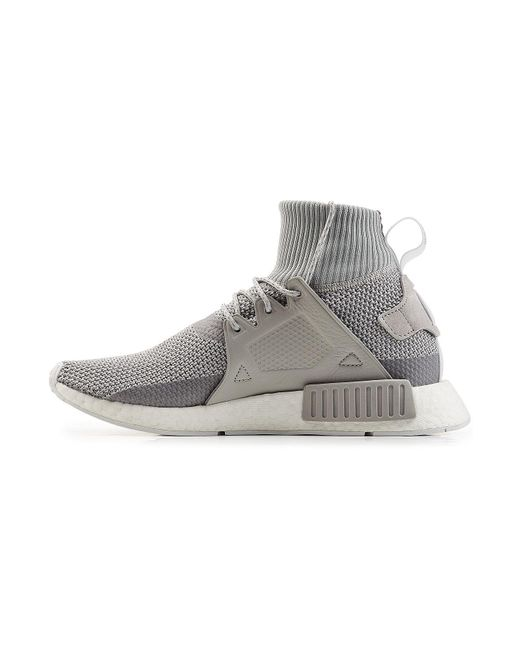 1a1abb9bd ... Adidas Originals - Gray Nmd R2 Primeknit Sneakers for Men - Lyst