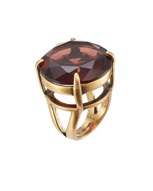 Marc Jacobs | Multicolor Oversized Stone Embellished Ring | Lyst