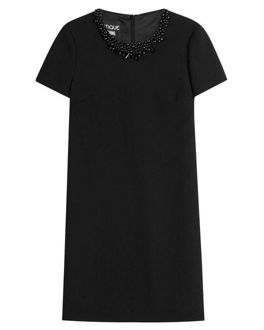Boutique Moschino - Black Short Dress - Lyst