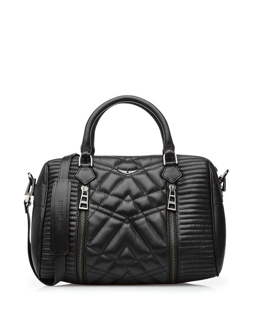 Zadig & voltaire Quilted Leather Tote