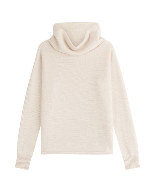 Sonia Rykiel - Natural Cashmere Turtleneck Pullover - Lyst
