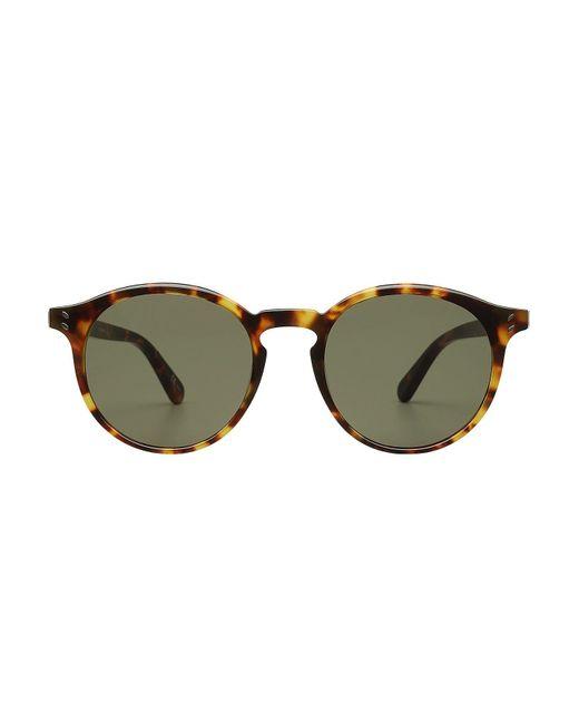 Stella McCartney   Brown Tortoiseshell Print Sunglasses   Lyst