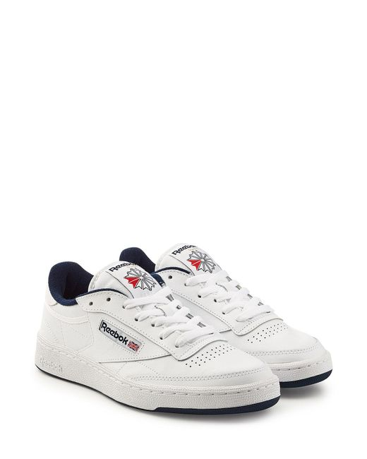Reebok - Multicolor Club C 85 Vintage Sneakers With Leather for Men - Lyst