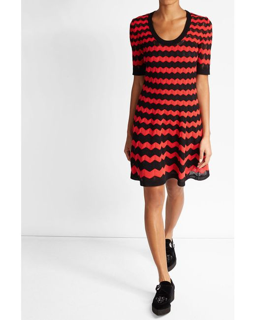M Missoni | Flared Dress With Cotton | Lyst