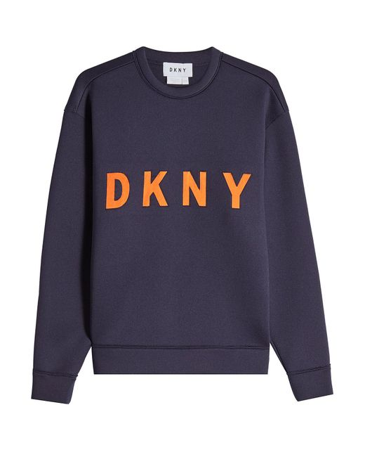 DKNY - Multicolor Printed Sweatshirt - Lyst