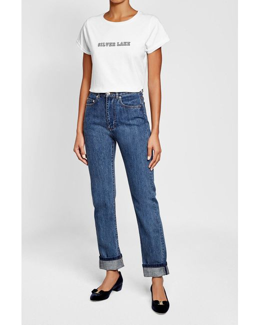 A.P.C. | Blue Skinny Jeans | Lyst
