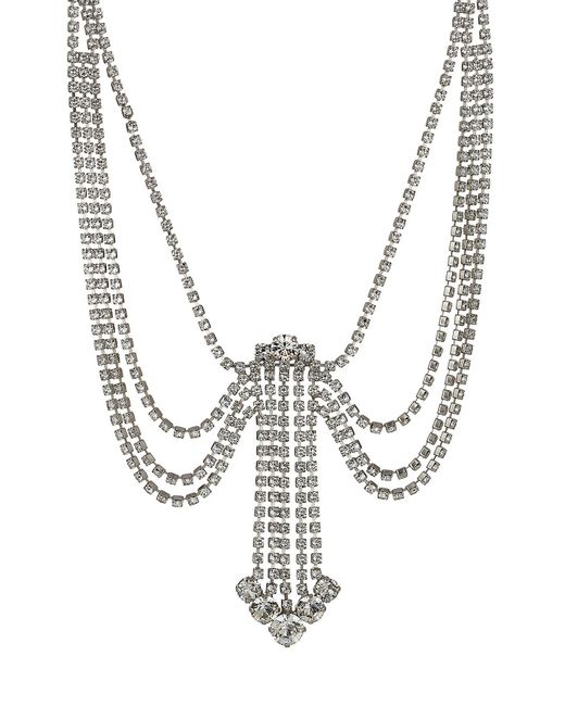 Marc Jacobs - Multicolor Statement Crystal Necklace - Lyst