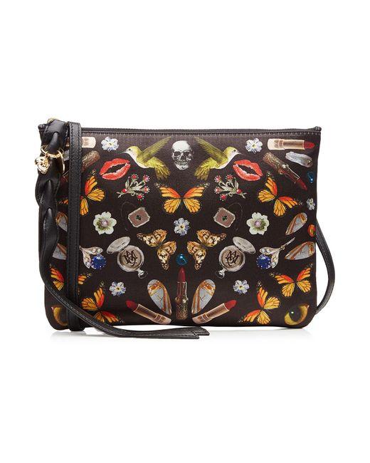 Alexander McQueen | Multicolor Printed Fabric Shoulder Bag | Lyst