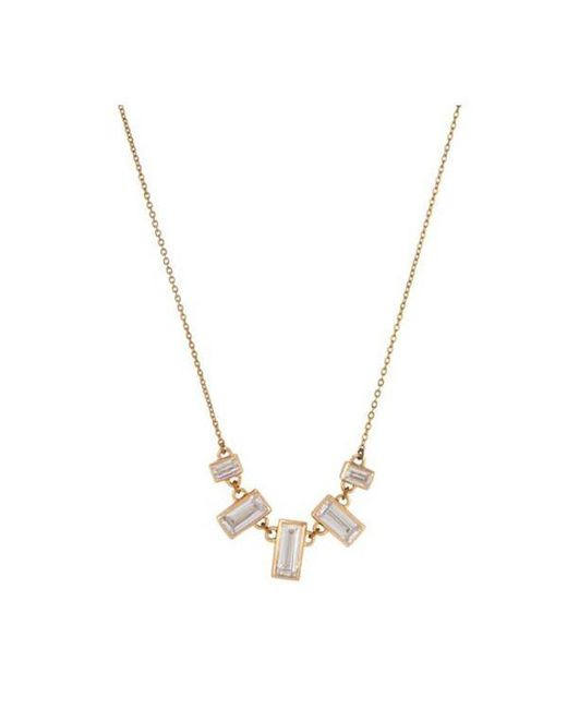 Melinda Maria | Metallic Emily Necklace | Lyst