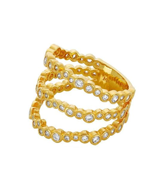 Melinda Maria - Metallic Arabella Stacking Ring - Lyst