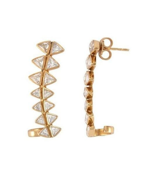 Melinda Maria - Metallic Spencer Ear Cuff - Lyst