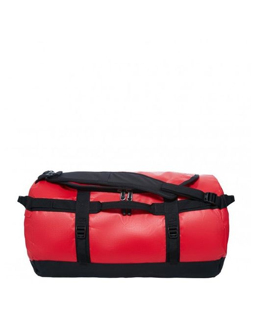 The North Face - Red Base Camp Duffel Barrel Bag for Men - Lyst