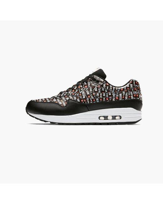 Nike Air Max 1 Premium Just Do It in Black Lyst