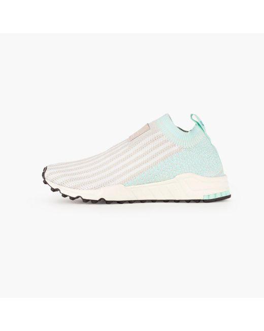 Adidas Originals - White Eqt Support Sk Primeknit Women's - Lyst