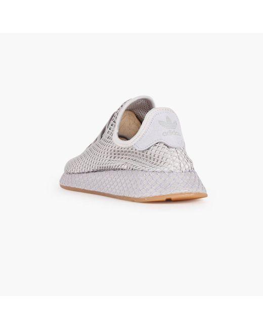 1866d29d608d8 ... Adidas Originals - White Deerupt Runner - Lyst ...