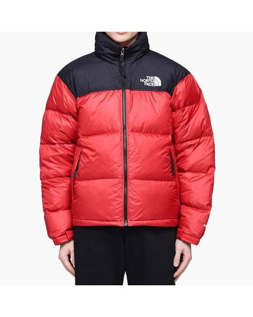 830818f7ab7 The North Face - Red 1996 Retro Nuptse Down Jacket for Men - Lyst ...