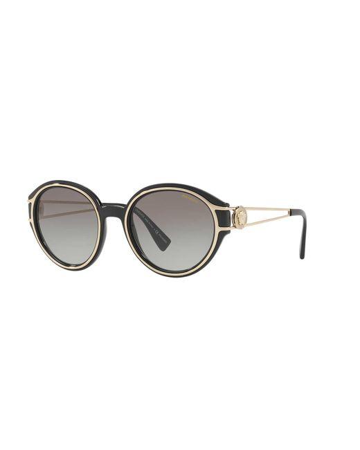 baf97b5730 Versace - Gray Polarized Sunglasses